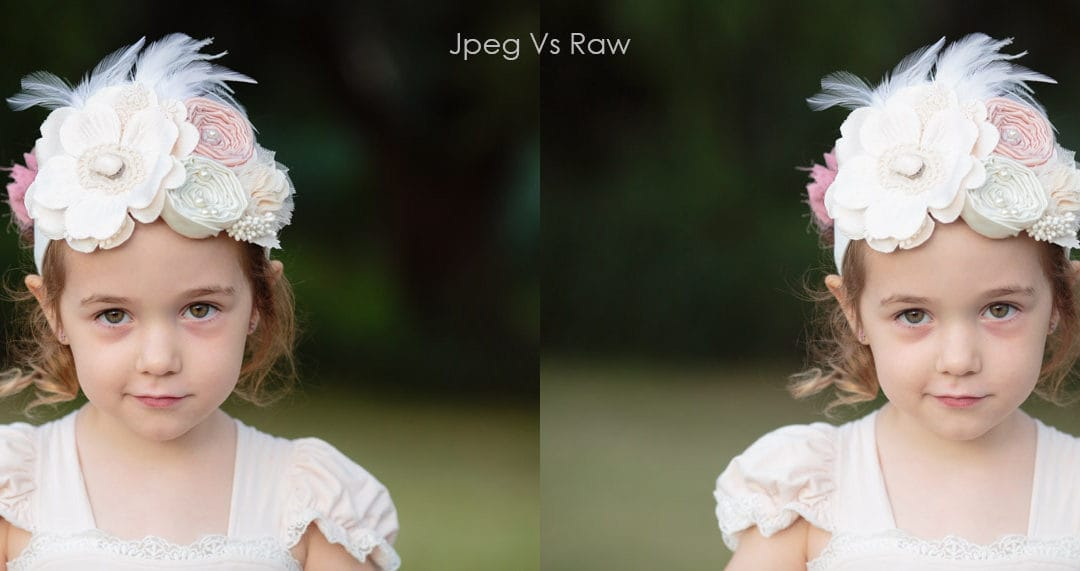 JPEG or RAW | How to choose the right file type for you!