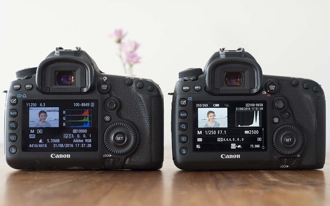 Canon EOS 5D Mark III vs Canon EOS 5D Mark IV